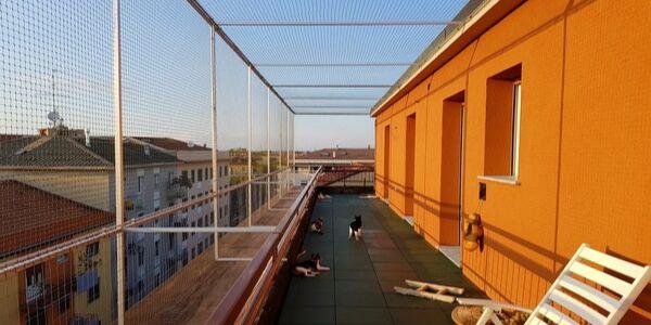 Reti protettive per terrazzi
